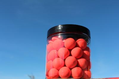 POP UP 15 mm   BLOODWORM rose PALE