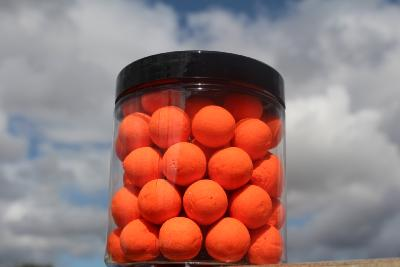POP UP 15mm orange fluo Tuna Banana