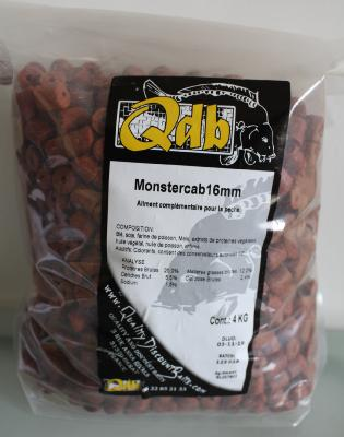4 kilos PELLETS MONSTERCRAB 16 MM